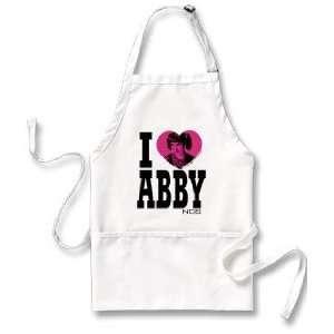 NCIS I Heart Abby Apron