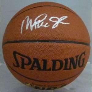 Magic Johnson Autographed Basketball   Autographed Basketballs: