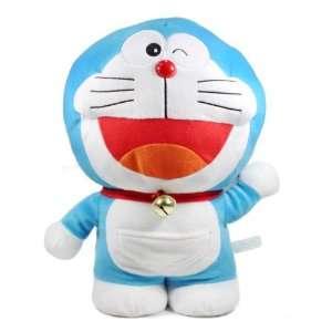 Laughing Doraemon Plush Doll Toy   Winking Doraemon: Toys & Games