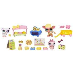 Littlest Pet Shop Themed Play Pack   Spot And Dot Treat Shop