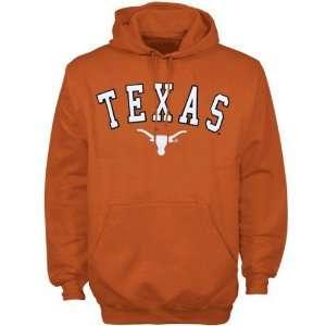 Texas Longhorns Orange Arch Logo Hoody Sweatshirt Sports