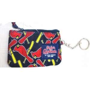 St Louis Cardinals MLB Special fabric ID case change purse