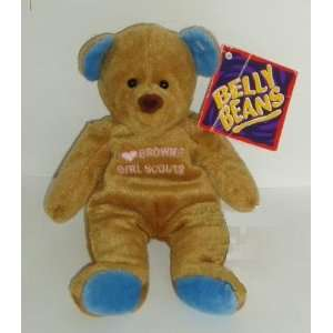 Belly Beans Bear I Love Brownie Girl Scouts Toys & Games