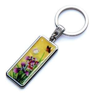 Luxury Novelty Cool Metal Keychain Key Ring Fob Holder Office