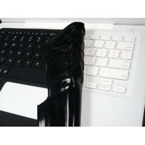 Macbook 13 Silicone Keyboard Cover Black By Mactop