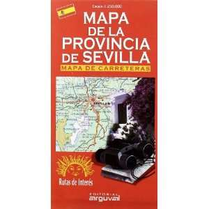 Mapa de la provincia de Sevilla (9788495948281) Unknown
