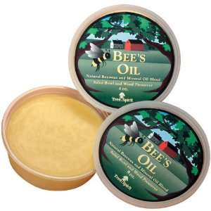 Lamson Sharp TreeSpirit Bees Oil, Natural Beeswax and Mineral Oil