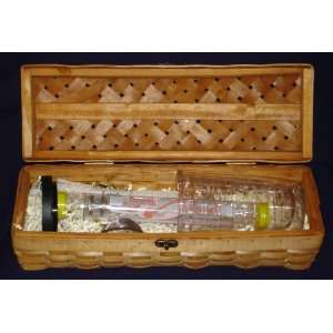 Java Wand Brewing Gift Set for Tea and Coffee in Woven Box with Tervis