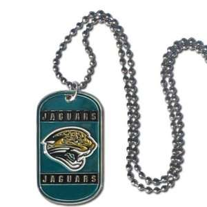Jacksonville Jaguars   NFL Dog Tag Chain Necklace Sports