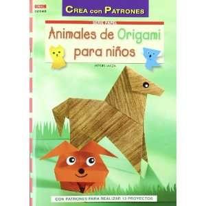 ANIMALES DE ORIGAMI PARA NIÑOS (9788498742442) Miyuki