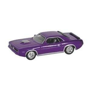 Model Power (HO) 1/87 70 Plymouth Hemi Barracuda Purple: Toys & Games