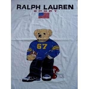 Polo Kids Children Bear Football XL Beach Towel 35X66