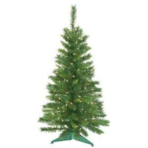 3.5 Pre Lit Imperial Pine Artificial Christmas Tree