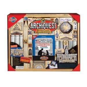 Presidents Architectural Building System, 205 Pieces Toys & Games