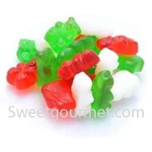 Albanese Christmas Gummi Bears (Red,Green,White) 1.5 Lb