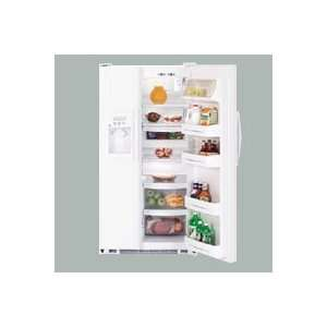 White Energy Star 24.9 cu. ft. Side By Side Refrigerator