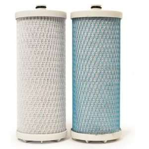 WSAQ1 Drinking Water Filter System Twin Filter Replacement Cartridges