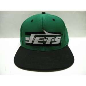 NFL New York Jets Horizon Green Black 2 Tone Retro Snapback Cap