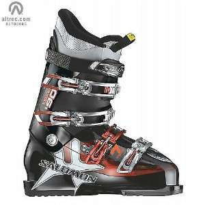 Salomon Impact 7 Ski Boots Black/Red/Transparent:  Sports