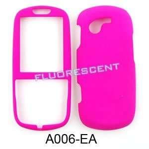 com Samsung Gravity 3 T479 Fluorescent Solid Rich Hot Pink Hard Case