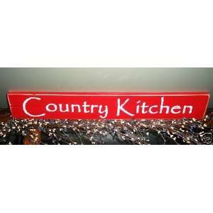 Chic Shabby COUNTRY KITCHEN Wood Sign CHOOSE COLOR