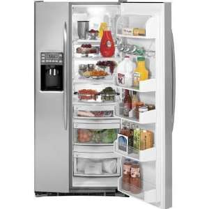 Cu. Ft. Stainless Steel Side By Side Refrigerator