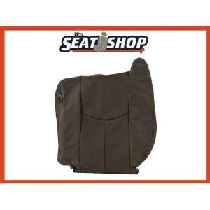 04 05 06 Chevy Silverado GMC Sierra Graphite Leather Seat Cover LH top