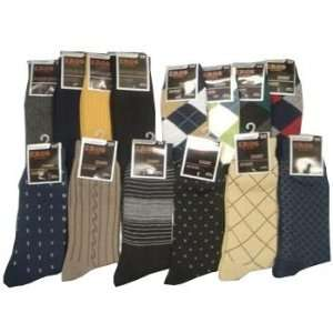 Mens Dress Socks Combination Case Pack 216 Everything