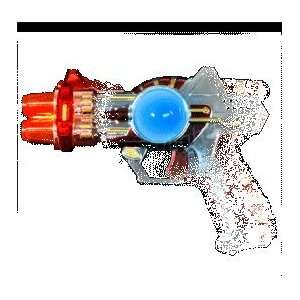 Red LED Space Guns with Sound Effects   SKU NO 11448 Toys & Games