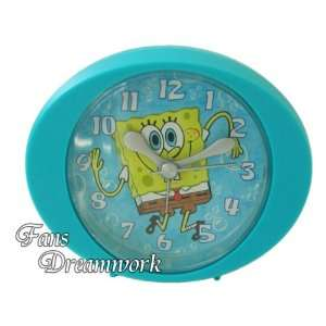 Nickelodeon SpongeBob SquarePants Blue Desk Clock Home