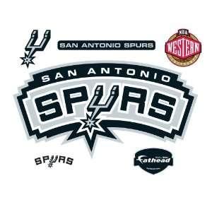 Fathead San Antonio Spurs Logo Wall Decal  Sports