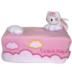 Plush Tissue Box Cover   Hello Kitty Tissue Box Cover Toys & Games