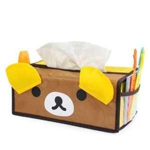 Cute Cartoon (Bear) Tissue Box Cover Organizer Holder