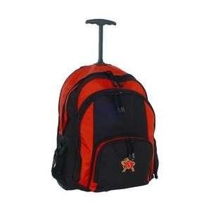 Mercury Luggage Maryland Terrapins Wheeled Backpack