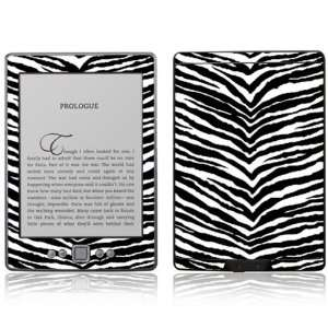 Black Zebra Skin Design Decorative Skin Decal Sticker for