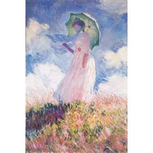 Woman with Umbrella Monet Jigsaw Puzzle 1000pc Toys