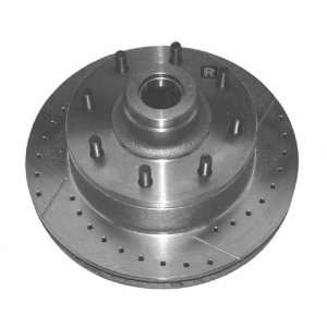 Aimco Extreme 5366RX Severe Duty Right Front Disc Brake Rotor and Hub