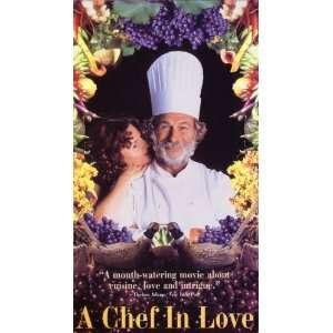 Chef In Love [VHS] Nino Kirtadze, Pierre Richard