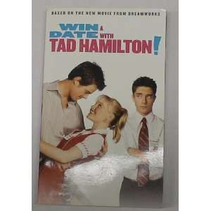 WIN A DATE WITH TAD HAMILTON PAPERBACK BOOK KATE BOSWORTH