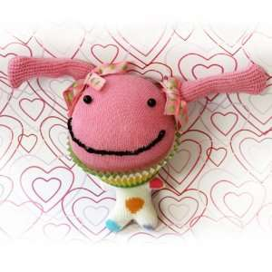 Cupcake Plush Monster Ima Happy: Toys & Games