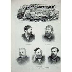 1883 Macbeth Gregory Leader Holl Brock Royal Academy