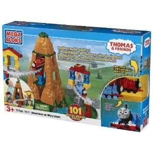 Mega Bloks Thomas Adventure on Misty Island  Toys & Games