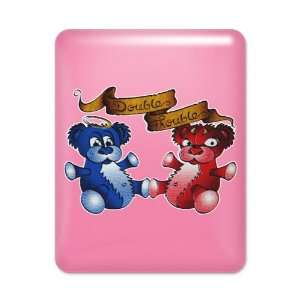 Case Hot Pink Double Trouble Bears Angel and Devil Everything Else