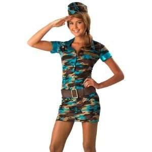 Teen Size Costumes Army Girl Outfit Halloween Costume M Juniors Medium