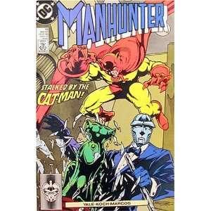 Manhunter #13 Trackdown Kim Yale, John Koch Books