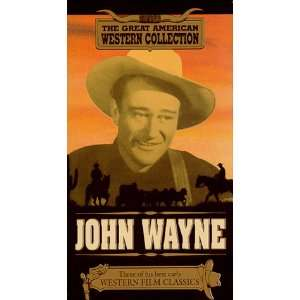 John Wayne   Randy Rides Alone, The Trail Beyond and Hell Town [VHS