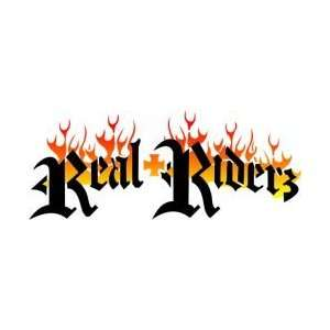 Tattoo Stencil   Real Riders Logo   #L163: Health
