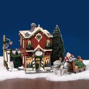 Dept. 56 Original Snow Village Silver Bells Christmas Shop