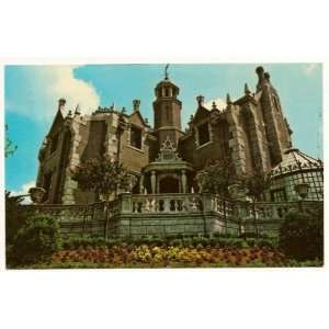 Disney World Magic Kingdom The Haunted Mansion 3x5 Postcard 01110224