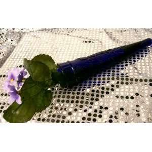 Glass Wall Pocket   Cobalt Blue